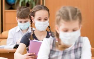 Brug af skolens luftrensere, filtre mod aerosoler, korona